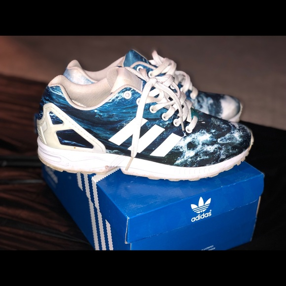 c5cad60d15d436 where to buy women adidas zx flux ocean waves a6731 3e4e0